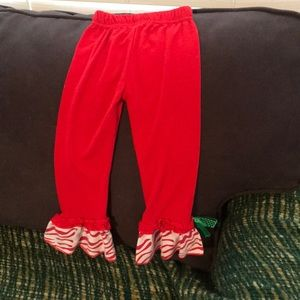 Other - Toddler Christmas bell bottoms